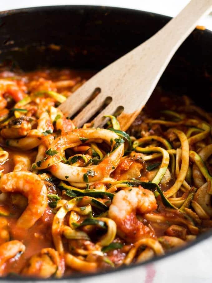 Marinara 'Zucchini' Pasta